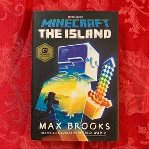 Minecraft the Island hardcover book